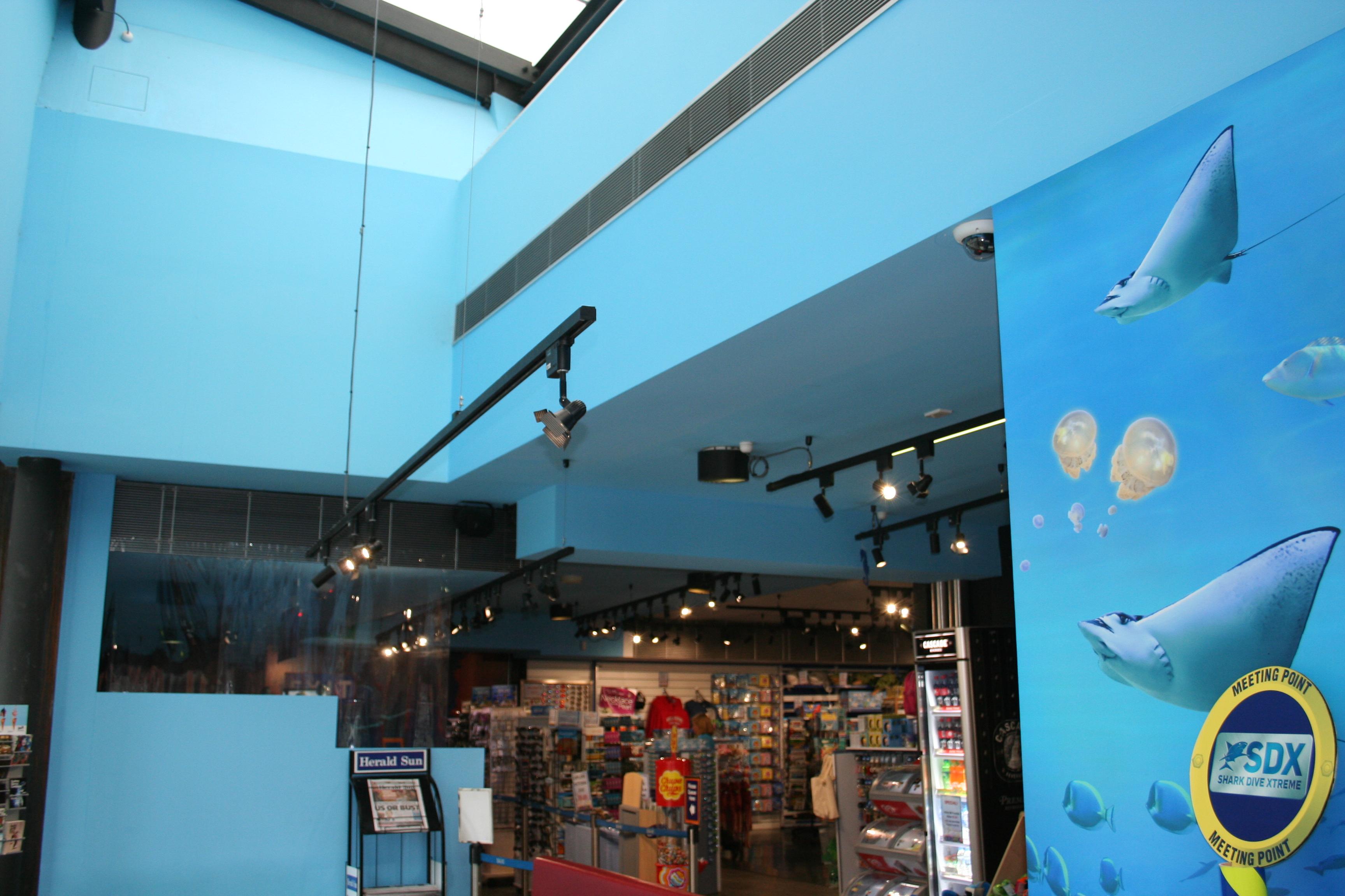 Sea Life Aquarium Refurbishment Recips Electrical